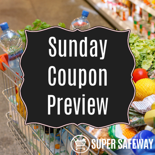 Sunday Coupon Preview for 10/25