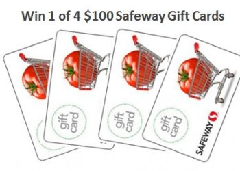 $100 Safeway Gift Card Giveaway – Closed