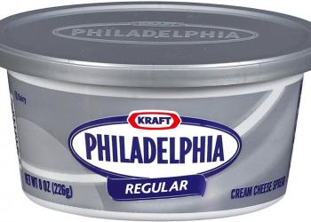 Philadelphia Cream Cheese-$1.49