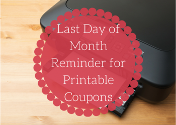 Last Day to Print July Coupons