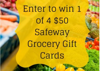 Win 1 of 4 Safeway $50 Gift Cards – Closed