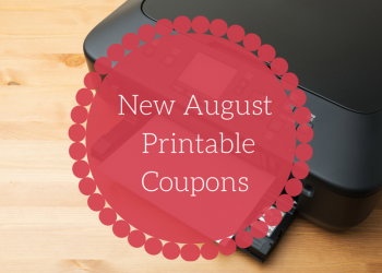 New August Printable Coupons