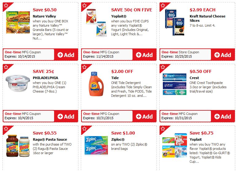 safeway Just for You coupon gallery