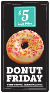 Donut Friday - $5.00 a Dozen, TODAY ONLY