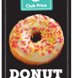 Donut Friday – $5.00 a Dozen, TODAY ONLY