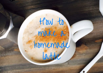 How to Make a Homemade Latte – Recipe and Video