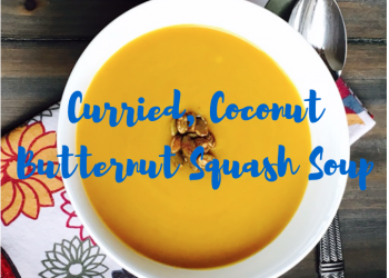 Curried Coconut Butternut Squash Soup Recipe and Video