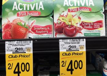 Dannon Yogurt Coupons, Pay as Low as $1.00