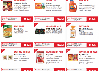 Just for U Coupons at Safeway