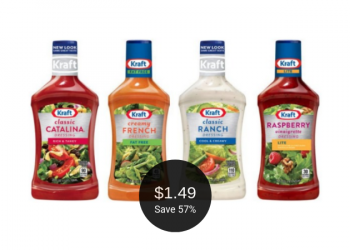 Kraft Salad Dressing for $1.49 at Safeway