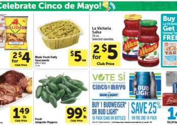 Safeway Cinco De Mayo Food Deals – Avocados $0.62, Tomatoes $0.54, Chicken $1.67, and More