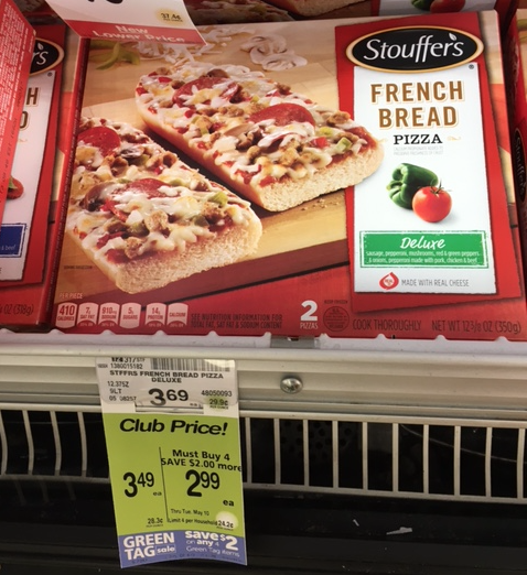 Stouffer S French Bread Pizza Just 1 25 Each At Safeway Super Safeway