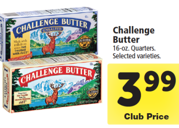 HOT Challenge Butter Coupons Pay just $2.49 at Safeway