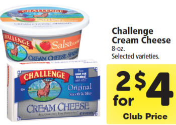 Challenge Cream Cheese Coupon & Sale – Pay just $1.00