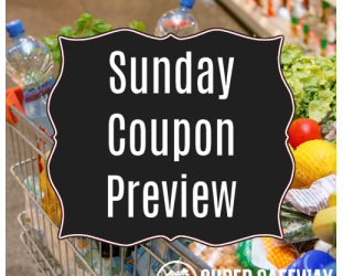 Sunday Coupon Preview 5/8 – RedPlum and SmartSource
