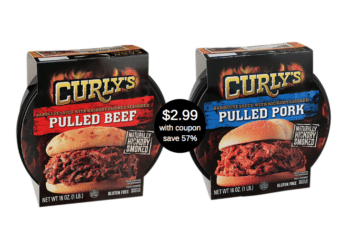 Curly's BBQ Meat Tubs Just $2.99 for BBQ Pulled Pork or Beef at Safeway (Save $4)