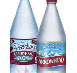 Arrowhead Sparkling Water for as Low as $.25