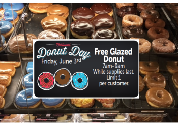 Free Donut for National Donut Day – Friday June 3rd
