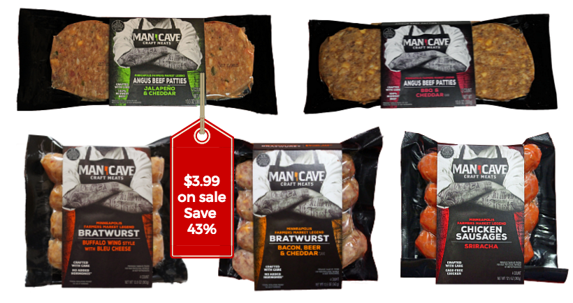 Man Cave Meats : Man cave meats save on craft sausage and burgers