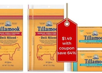 Tillamook Cheese Coupons, Pay Just $1.49