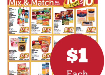 10 Items for $10, Mix and Match Sale – 63 Items!