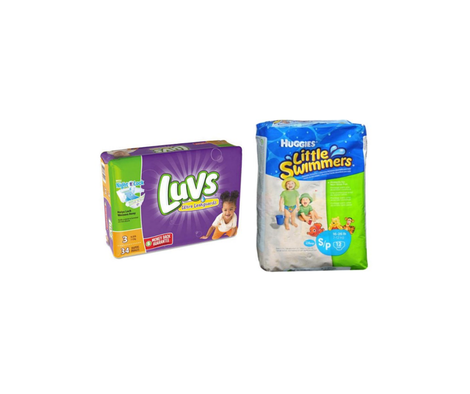 Luvs baby diaper coupons