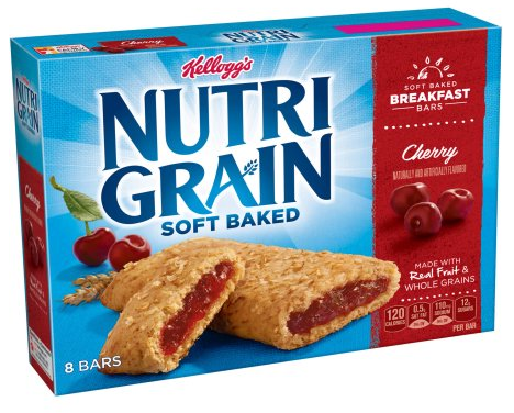 Kellogg's Nutri-Grain Coupons, Pay as Low as $0.42