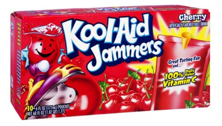 Kool-Aid Jammers Coupon, Pay $1.49 for a 10 Pack