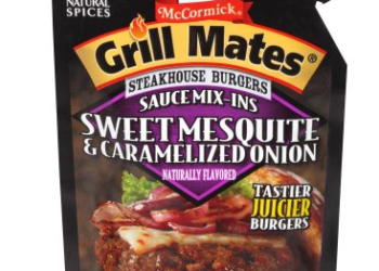 McCormick Grill Mates Burger Seasoning Sale, Pay as Low as $0.75