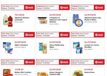 Safeway Weekend Deals Preview, Valid 7/22 – 7/23