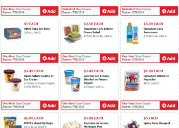 Safeway and Albertsons Just for U Weekend Savings Deals Preview