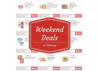 Safeway Just for U Weekend Deals Through 7/23