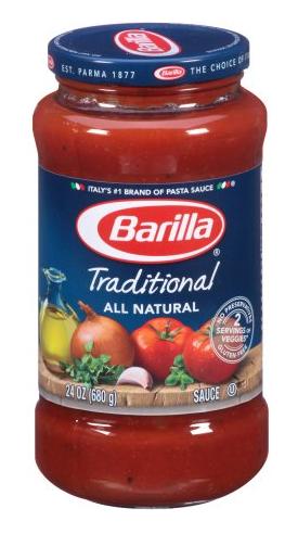 Barilla Coupon, Pay $1.00 for Pasta Sauce