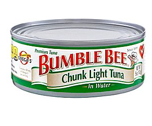 bumble bee chunk light tuna. Black Bedroom Furniture Sets. Home Design Ideas