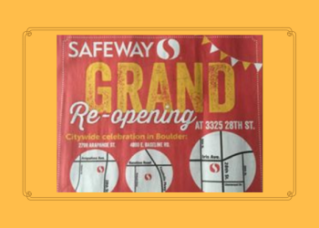 Safeway Grand Re-Opening in Boulder