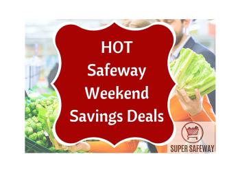 Safeway 3 Day Sale 8/19 – 8/21