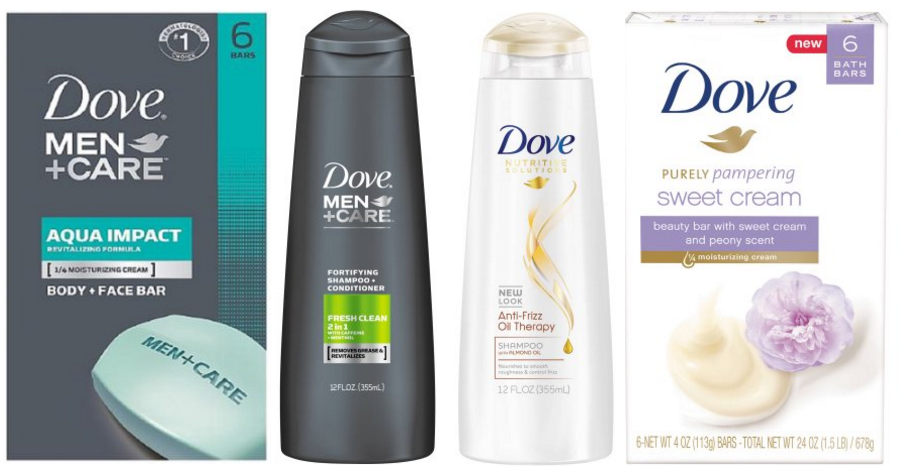 Dove Hair Care as low as $1.24 and Dove Bar Soap $.40 each - Super Safeway