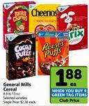 General Mills Cereal as low as $1.38