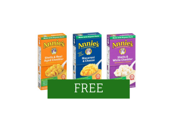 FREE Annie's Mac and Cheese at Safeway and Albertsons