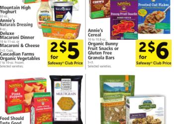 Natural & Organic Promotion Through 9/20 – Buy $20, Save $5