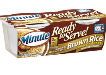 NEW Minute Coupons, Pay $0.99 for Ready to Serve Rice
