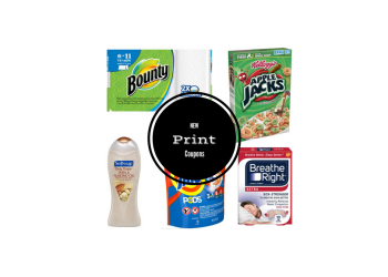 38 NEW Coupons to Print