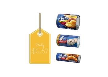 Pillsbury Coupons, Pay $0.67