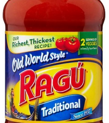 FREE Ragu Pasta Sauce Plus $.10 Cash Back