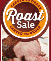 Albertsons and Safeway Roast Sale