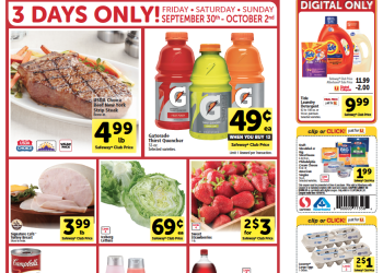 Hot 3 Day Weekend Sales Starts Now at Safeway! – $.88 Ice Cream, FREE Shampoo, $.16 soups and more!