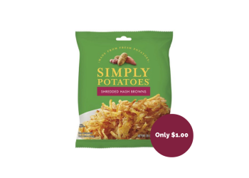 Simply Potatoes Coupon, Pay $1.00
