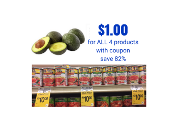 Avocado and RoTel Sale, Pay as Low as $1.00 for ALL FOUR Items