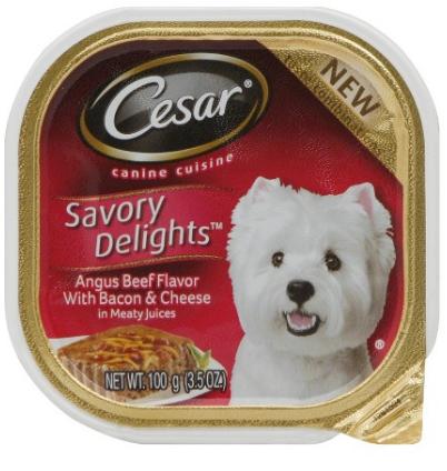 Cesar Dog Food On Sale