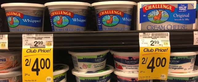 Challenge Cream Cheese Coupon, Pay as Low as $0.50
